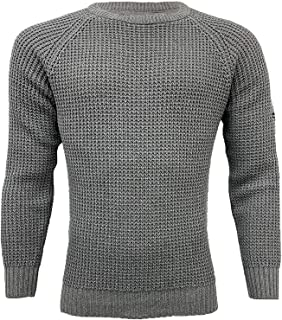 Crosshatch Men's Jumper MINEHEAD Grey 2X Large