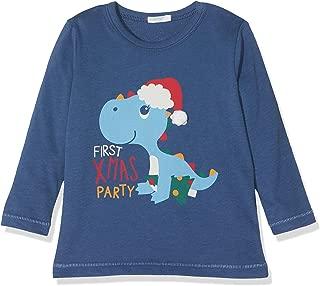 Hariz dise/ño de manzana y frutas multicolor azul Azul Oscuro Talla:9-15 Monate // 70-79cm Camiseta de manga corta para beb/é