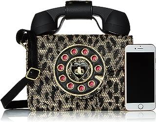 Betsey Johnson Mighty Jungle Leopard Print Phone Bag