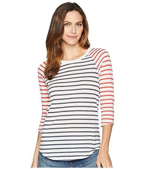 Alternativa Red Stripe Stripe Eco Jersey Béisbol Midnight Riviera Riviera Raglan r0qrY