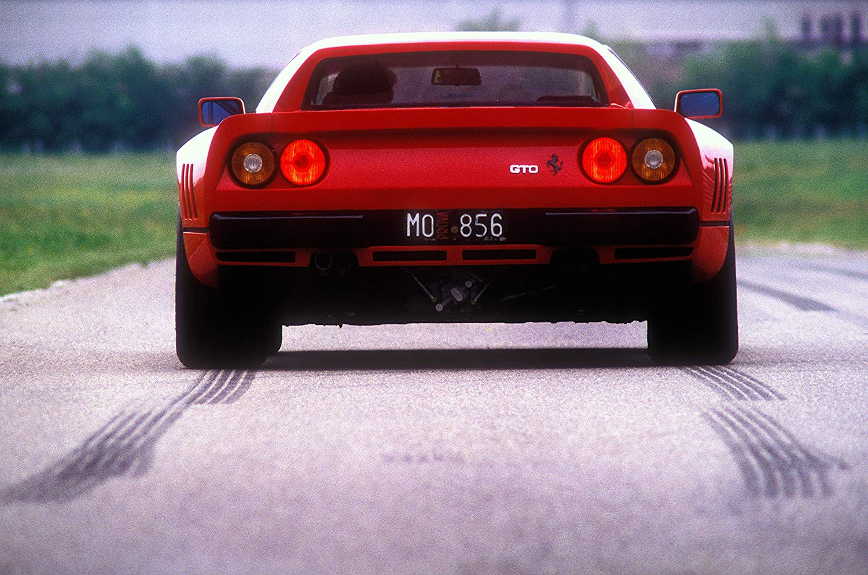 Black Creations Ferrari 288 GTO 3 Sport Car Poster Canvas Picture Art Print Premium Quality A0 A1 A2 A3 A4 (A0 Canvas (30 40))