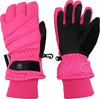 Kids Bulky Thinsulate Waterproof Winter Snow Ski Glove...