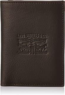 Levi's Leather Brown Men's Wallet (37541-0062)