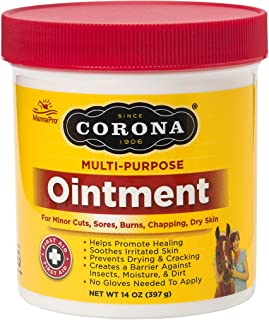 Corona  Ointment for Horses | Lanolin-Based Formula Helps Sooth Irritation | 14 Ounces