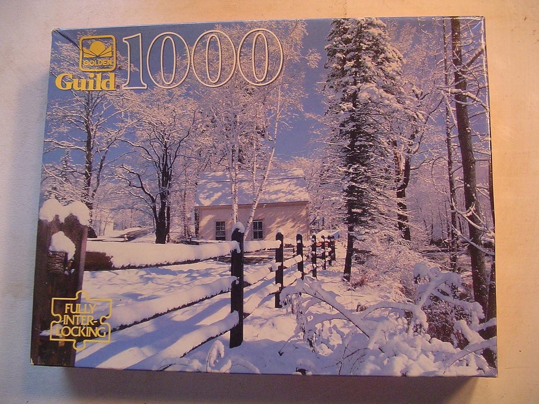 golden Guild Jackson N.H. 1000 piece Puzzle by Guild