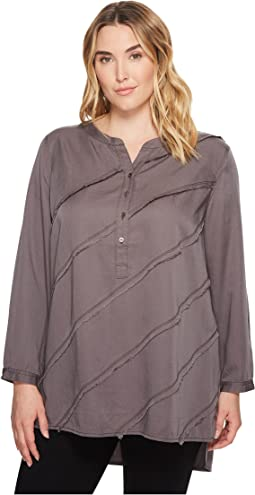 NIC+ZOE - Plus Size Tranquil Tunic Top