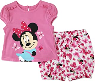 Disney Character Girls Tee and Shorts Set (Baby)