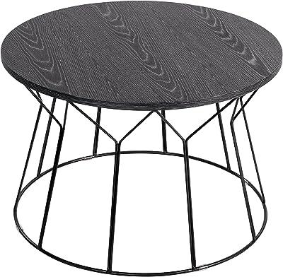 Elle Decor Fleur Coffee Table, Black