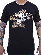 Men's Taz by Adi Tasmanian Devil Looney Cartoon Character Tattoo Art T-Shirt