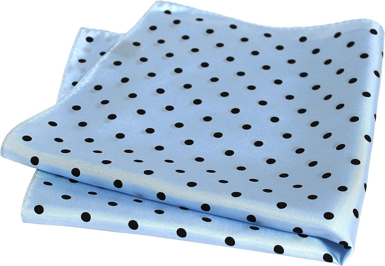 Royal Silk Polka Dot Pocket Square 17
