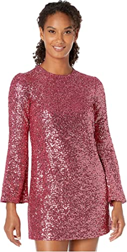 All Over Sequin Tunic Dress