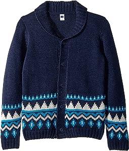 Fair Isle Cardigan Sweater (Toddler/Little Kids/Big Kids)