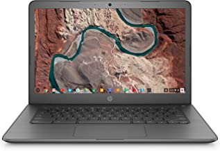 HP 4BS38UA HP Chromebook 14 IPS HD (1366x768) Intel Celeron N3350 4GB RAM, 32GB eMMC Hard Drive, Bluetooth, HDMI, Model 14...