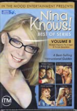 Nina Knows! Best Of Series Vol. 8 - Multiple Orgasms, The G-Spot & Female Ejaculation (4 Instructional Guides - 2 Disc Set)