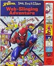 Marvel Spider-man - Web-Slinging Adventure Sound Book - Look, Find & Listen - PI Kids
