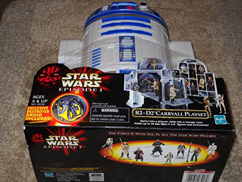 Star Wars Episode 1 R2-D2 voitureryall Playset with Exclusive Destroyer Droid Figure