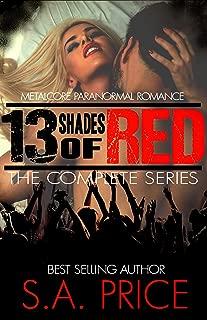 13 Shades of Red series Bundle: Metalcore PNR Rock Romance