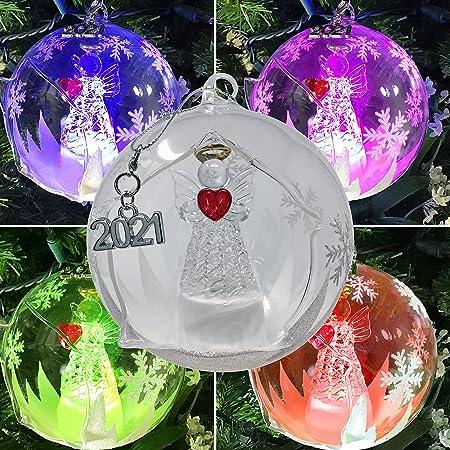 Leonardo Vase with Insert and Deco Aurora Christmas Decoration Christmas Angel New