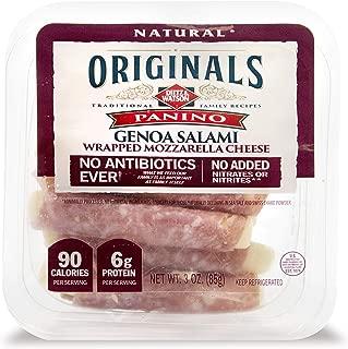 Dietz & Watson Originals No Antibiotics Ever Genoa Salami Panino Snack Sticks, 3 oz