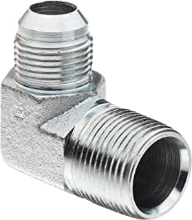 Brennan 1703-16-24 Steel JIC Flared Tube Fitting 1 Tube OD x 1-1//2 Flange 1 Tube OD x 1-1//2 Flange BREGG Flange 45 Degree Elbow Code 61