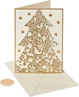 glitter christmas cards boxed
