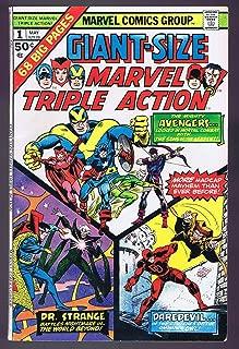 Giant Size Marvel Triple Action #1 Vintage 1975 Marvel Comics