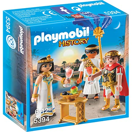 Playmobil History 5394 - Cesare e Cleopatra, dai 6 anni