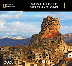 National Geographic Most Exotic Destinations 2020 Wall Calendar