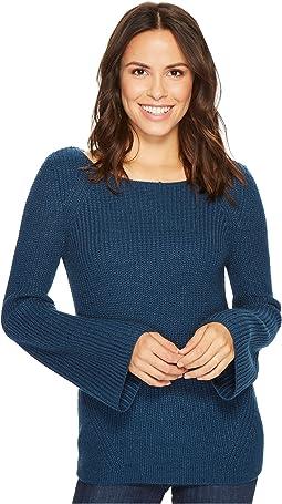 NYDJ - Boat Neck Bell Sleeve Sweater