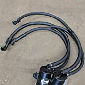 """Mishimoto MMHOSE-CC12-4 Universal Catch Can Hoses 1//2/"""" x 4/'"""