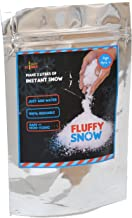 Yucky Science Fluffy Snow Powder. Make 2 litres of Instant Snow. Just Add Water to Make Artificial Snow That Feels Like Real. Great for Christmas Decorations & Frozen Birthdays