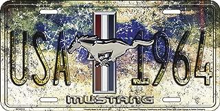 HangTime Mustang Since 1964 USA License Plate