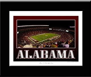 On Edge Creations Bryant Denny Stadium Alabama Crimson Tide Framed Picture (13