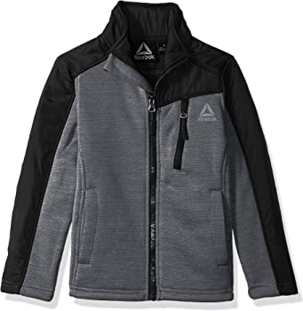 Reebok Boys' Active Soft Fleece Jacket