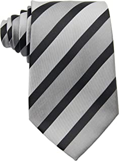Geotae Zerun New Classic Men's Striped Silk Tie Necktie