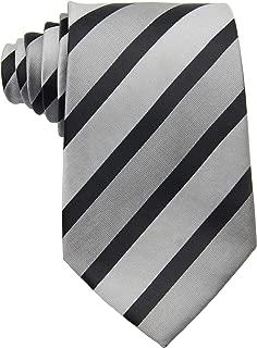Geotae Zerun New Classic Men's Striped Silk Tie Necktie