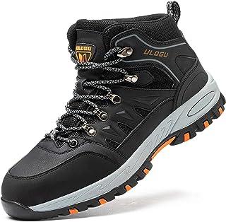 FOGOIN Chaussures de sécurité pour homme avec embout en acier Taille 37-46