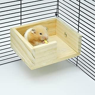 Niteangel Wooden Hamster Mouse Small Animals Lookout Platform