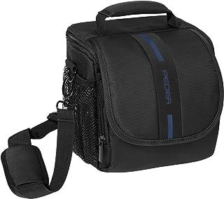 "PEDEA DSLR camera bag ""Essex"" Camera bag for SLR cameras with waterproof rain cover, carrying strap and accessory compartm..."