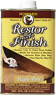 Howard Products RF2016 Restor-A-Finish, 16 oz, Maple-Pine