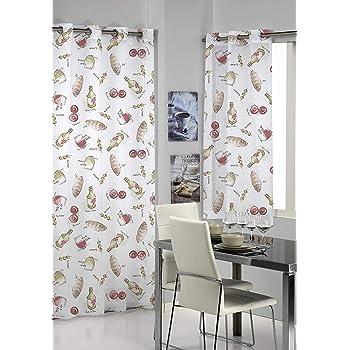 Mariposa floral cortinas Visillos gasa de Tulle de la cortina de ...