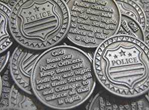 Set of 10 Police Pocket Token Coins