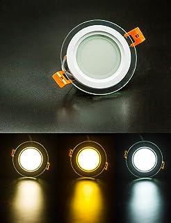XG COB LED Downlight Round Glass Panel Lights 20 Watt High Brightness Ceiling Recessed Lamps