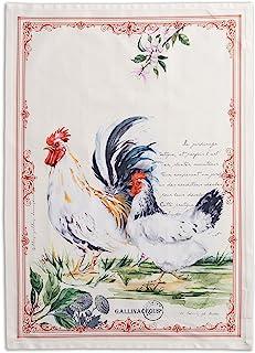 Maison d' Hermine Campagne 100% Cotton Set of 2 Multi-Purpose Kitchen Towel Soft Absorbent Dish Towels | Tea Towels | Bar ...