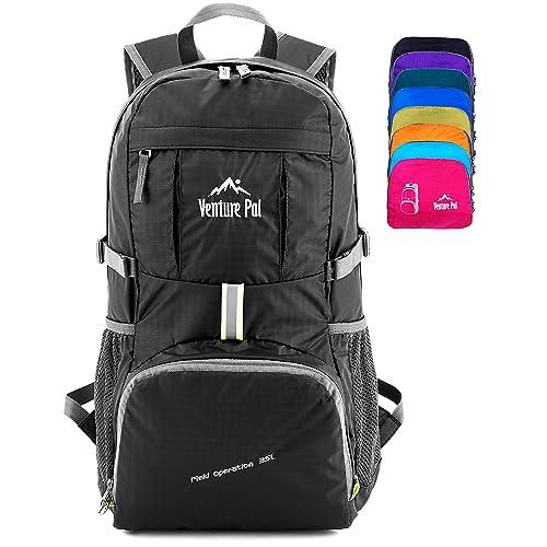 Venture Pal Lightweight Packable Durable Travel Hiking Backpack Daypack 8b71b23f9ea22