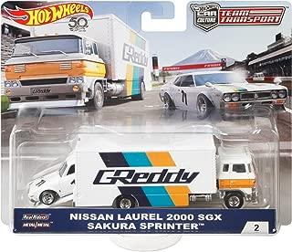 Hot Wheels Team Transport Sakura Sprinter