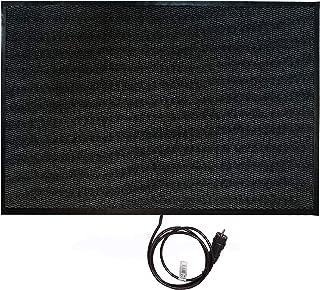 En rojo de calefacción sistemas, a prueba de alfombra calefactora 80 x 120 cm, 280 W, 70126