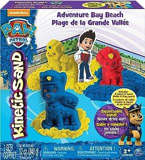 comprar comparacion PAW PATROL Patrol-6027965 Kinetic Sand, Color Azul, Rojo, Amarillo (Spin Master 6027965)