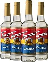 Torani Syrup, Vanilla, 25.4 Ounces (Pack of 4)