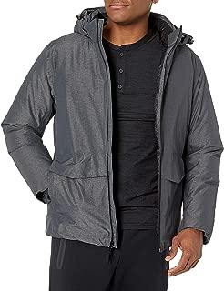 Peak Velocity Amazon Brand Men's Snow Tech Waterproof Jacket with Puffer Lining